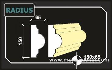 radius söve 15cm x 6,5cm