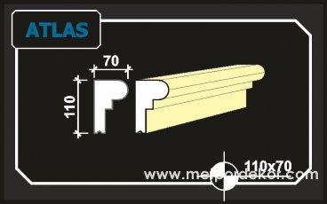 atlas denizlik söve modeli 11cm x 7cm
